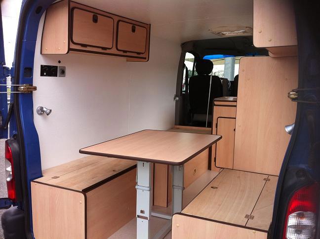 particuliers cpvl am nagement de fourgons constructeur lando. Black Bedroom Furniture Sets. Home Design Ideas